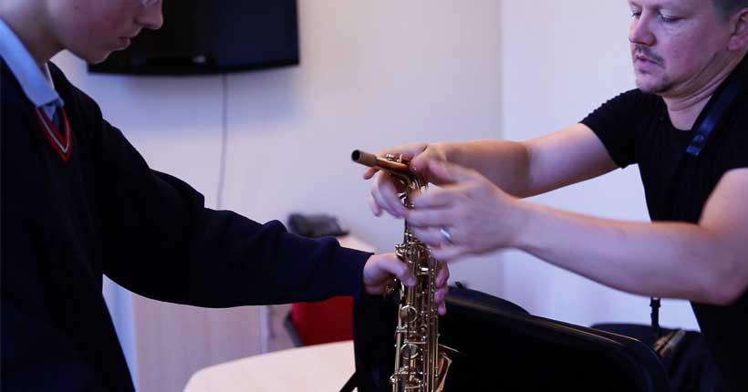 saxophone lessons dublin